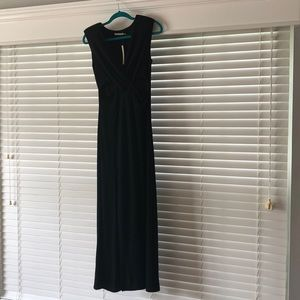 NWT! Mustard Seed Long Black Dress